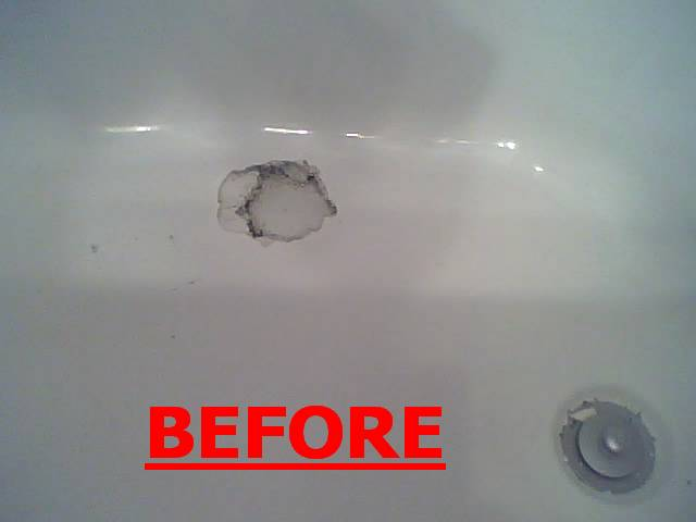 Chipped Bathtub Chipped Shower Scratch Burn Cultured